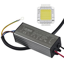 10W 20W 30W 50W 70W 100W Chip Driver + SMD Waterproof  Supply Bulb  LED Power