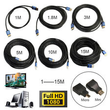 3M/5M/10M Super Long Aluminum Alloy HDMI Cable Male To Male HDMI Cable