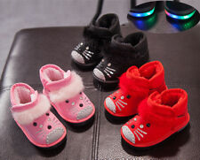 New Hot Winter Baby Cartoon Boots Toddler Boys Girls Warm Shoes Snow Boots