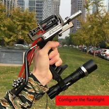 High Quality Laser Slingshot Black Hunting Bow Catapult Fishing Bow Outdoor
