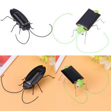 Magic Solar Energy Powered Cockroach/Grasshopper Educational Insect Kid Toy Gift