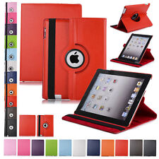 For iPad Mini 1 2 3 PU Leather 360 Rotating Shockproof Smart Case Stand Cover