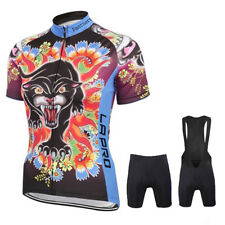 3D Cat Mens Sports Cycling Wear Jersey Sets Bike Short Sleeve BIB Jersey Shorts