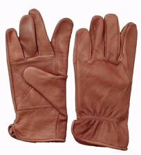 New Mens Cowhide Leather Work Gloves by Safety experts