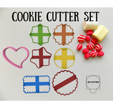 Circle Cookie Cutters. Heart Cookie Cutter. Star Cookie Cutter. Scalloped Cookie