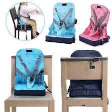 Kid Baby Dining Chair Highchair Seat Harness Bag Cushion Pad Booster Portable OE