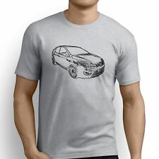 Ford Focus ST3 Inspired Car Art Men's T-Shirt
