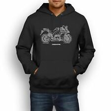 Kawasaki Z1000SX 2017 Inspired Motorcycle Art Men's Hoodie