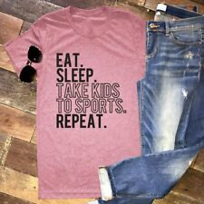 Womens Letters Printed Shirt O Neck T-shirt Tops Short Sleeve Casual Tee Blouse