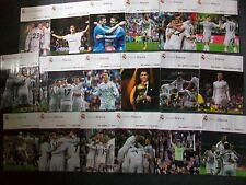 Real Madrid Home Programmes 2011 to 2014: Liga BBVA, Supercup Final, Cup Final