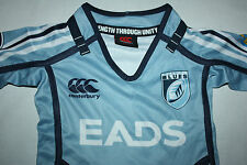 Canterbury Cardiff Blues Home Pro Kids Infant Rugby Jersey Shirt Top,sizes 2