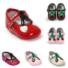 0-18M Toddler Baby Girls Soft Soled Princess Crib Shoes Party Sandals Shoes Size