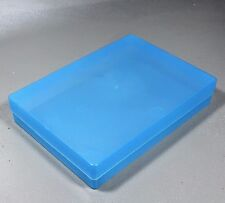 NEW A4 Translucent Blue Plastic Craft Paper Home / Office Storage Box