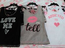 NWT LOVE LOUNGEWEAR Juniors 2 Pc Pajama Set / Shorts & Tank Size S / M / L