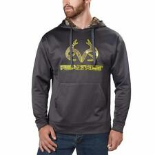Realtree Mens Hoodie Gray Grey Camouflage Performance Big & Tall Sizes