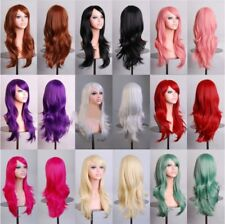 Women Sexy 70cm Long Curly Wig Fashion Cosplay Costume Anime Hair Party Wig