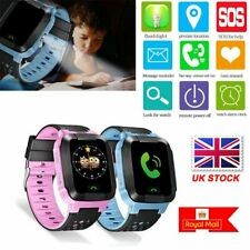 UK Anti-lost Safe LBS Tracker SOS Call Kid Smart Watch For Android IOS Gifts