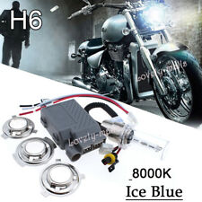 Universal Motorcycle Headlight Xenon Hid Kit Light Bulb 35W H6 3K 43K 6K 8K 12K