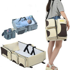 Baby Travel Baby Crib Bassinet Diaper Bag 3in1 Portable Changing Station Outdoor