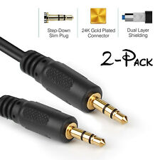 High Quality AUX Cable 3.5mm Male to Male Cable F Car AUX/Headphone/MP3-3/6/12ft