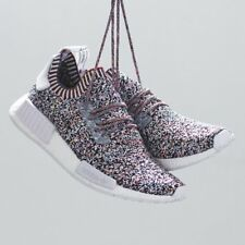 Adidas NMD R1 PK Rainbow Static Multicolor BW1126 Ultra Boost Free ship Big size