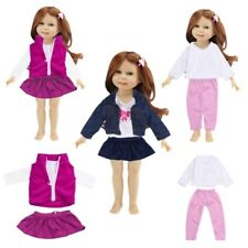 Clothes for 18 inch American Girl Our Generation Doll Jeans Dress Suit Outfit