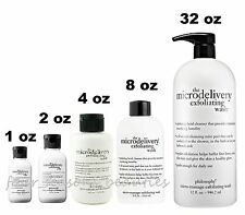 Philosophy The Microdelivery Exfoliating Wash Daily Facial 1 2 4  32 oz YOU PICK