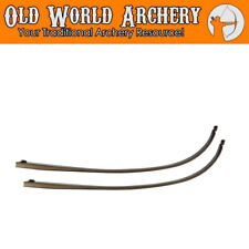 "Fleetwood Monarch 62"" Takedown Recurve Bow Limbs 15,20,25,30,35,40,45,50,55 lbs"