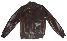 Sean John Mens Fashion Faux Leather Brown Jacket