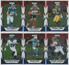 2017 Prizm Red White & Blue Refractor Lot (6) ENGRAM RC, COBB + Packers, Eagles