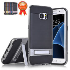 Acrylic Shockproof Hybrid Kickstand Thin For Samsung Galaxy S7Edge S8 Cover Case