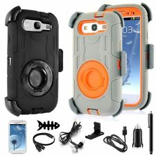 Clip Armor Defender ShockProof Hard Case Cover For SAMSUNG GALAXY S III S3 i9300