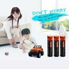 Doublepow Li-ion or AA AAA Rechargeable Battery w/ USB / LCD Charger Set Lot