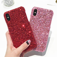 Luxury Bling Glitter Crystal Hard Back Phone Case Cover for iPhone 6s 7 Plus 8 X