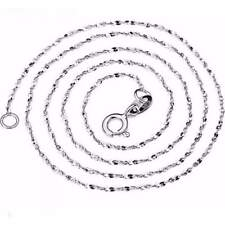 New starry link chain necklace unisex pure 925 solid sterling silver jewelry 40