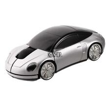 Car Shape Wireless Optical Mouse Color Changing Home Office USB KECP 01