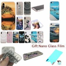 Fashion SOFT RUGGED TPU 1.2mm THICK Shockproof Back Case Cover Skin For iPhone