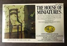 The House Of Miniatures X-ACTO Side Chair Set Of 2 Unopened 40007
