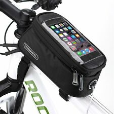 ROSWHEEL Waterproof Cycling Bike Bicycle Front Frame Pannier Tube Bag For Phone