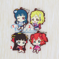 T662 Anime Lovelive Love Live! rubber Keychain Key Ring Rare straps Cosplay