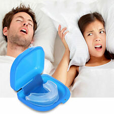 Stop Snoring Anti Snore Mouthpiece Apnea Guard Bruxism Tray Sleeping Aid Hot LCY