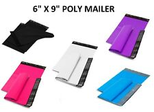 6X9 Poly Mailers Shipping Envelopes Self Sealing Plastic Mailing Bags Color