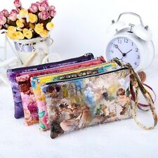 Women Lady Fashion Wallet Card Holder Phone Bag Case Purse Wrist Belt Handbag