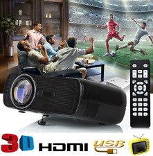 HD 1080P, 1500 LM, Home Theater Video Projector, Home Multimedia Cinema, TV ho