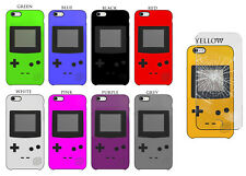 Game Boy Design Hard Phone Case Skin Cover with Glass For Apple iPhone Models