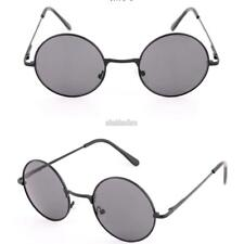 Women Fashion Retro Round Mirror Lens Sunglasses Metal Frame Sun Glasses EFFU