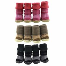 Warm Pet Dog Cat Snow Long Booties Boots Puppy Anti-slip Shoes Sneakers XS-XL