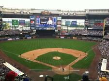 1-2 Pittsburgh Pirates @ Milwaukee Brewers 2018 Tickets 5/6/18 Sec 422 Miller