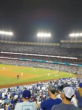 2 tickets Dodgers vs Reds ,Fri May 11,Loge 151 Row C ( aisle seats )