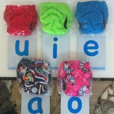 newborn AIO cloth diaper velcro/button, pocket with insert, cover without insert